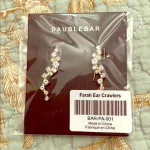 BaubleBar Farah Crawler Earrings